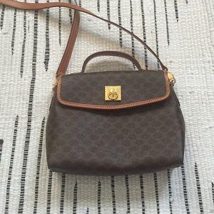 replica celine shoes - 85% off Celine Handbags - SALE??AUTHENTIC VINTAGE CELINE TAN CROSS ...