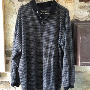 Houndstooth / Herringbone pattern Men's shirt