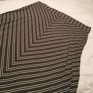 Old Navy Chevron Stripe Maxi Skirt-NWOT