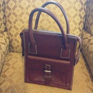 Vintage GAP Leather hand bag