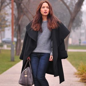 Zara Jackets & Blazers - Wrap coat