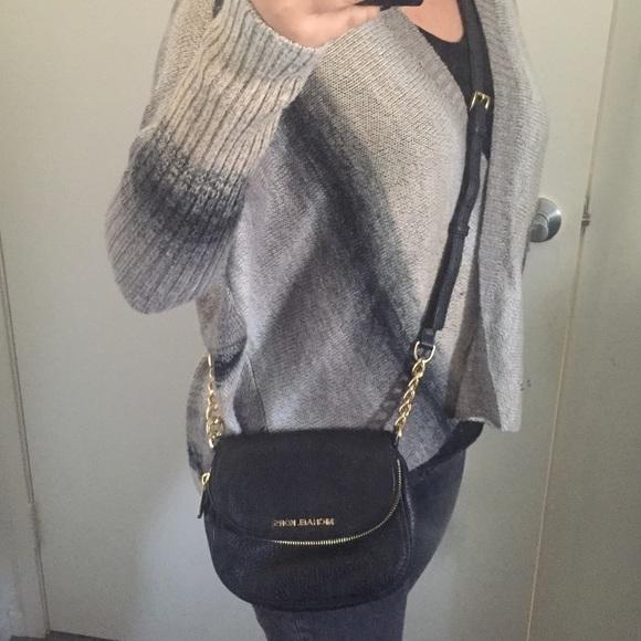 af5b846c188e Buy michael kors bedford flap black leather crossbody bag   OFF58 ...