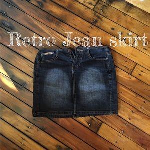 lei Dresses & Skirts - L.E.I jean skirt