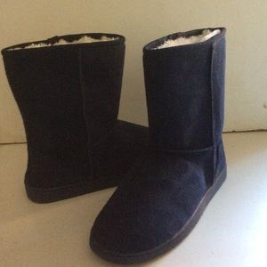 Dawgs Shoes - New Dawgs Sheepdogs Women's Navy Boots