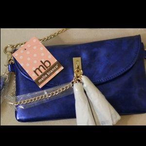 Melie Bianco blue purse
