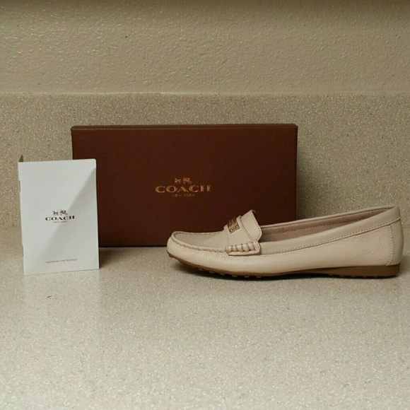 a2034a7717b Coach Fredrica Pebble Grained Leather Loafer
