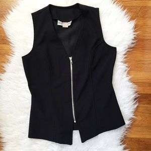 vintage Necessary Objects zip vest