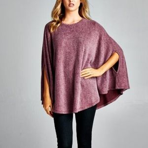 "X ""Beyond the Stars"" Cape Poncho Top"