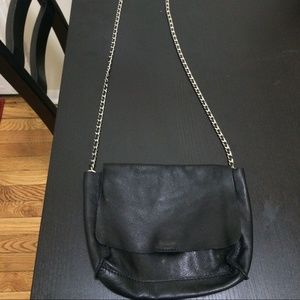Zara leather crossbody bag new without tags