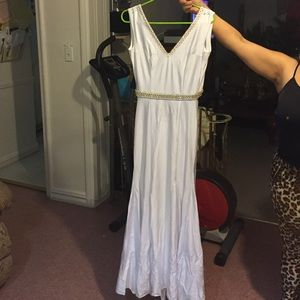 Custom made prom dress