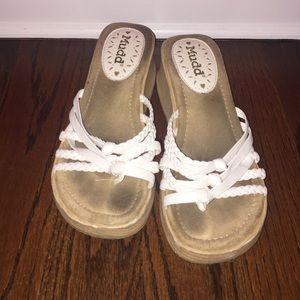 Mudd wedge sandals