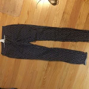 Polka dot jeans! Great for summer.