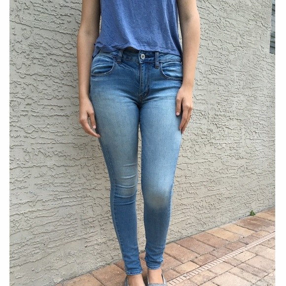sale retailer lowest price best shoes American Eagle, size 6-long, Jegging