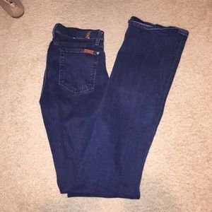 7 for all mankind - skinny bootcut