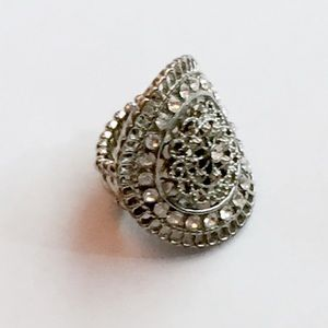 Jewelry - Silver Plated Ring — One Size