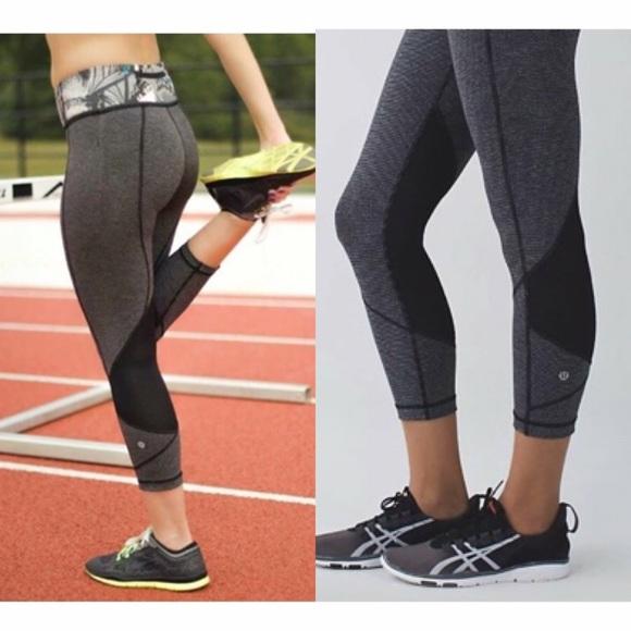 d7316e480 lululemon athletica Pants - Lululemon Pace Rival Crops
