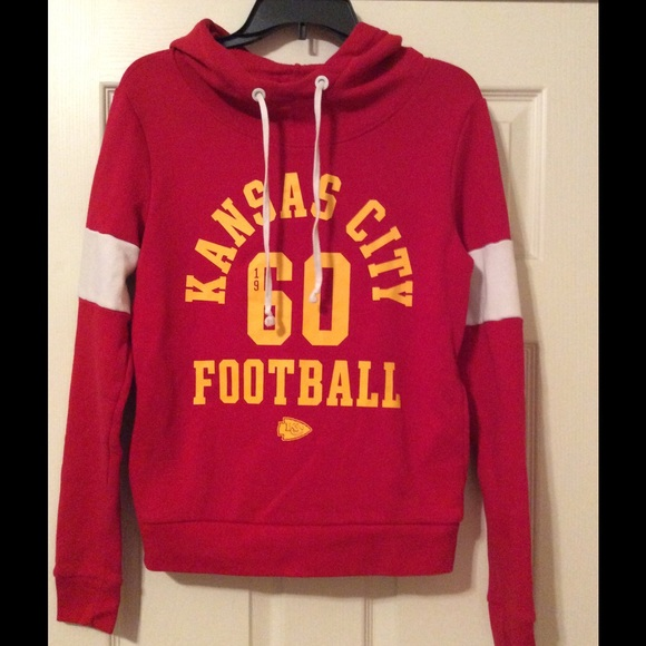 more photos 2f8ff d609d Victoria Secret PINK Kansas City Chiefs hoodie