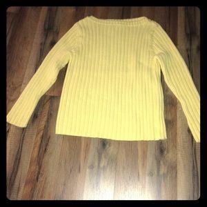 Ralph Lauren Sweaters - Ralph Lauren petite yellow boatneck knit sweater