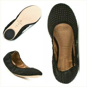 Corso Como Shoes - Corso Como Farran Studded Ballet Flats NEW