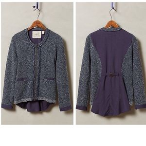 Anthropologie Envalira Sweater Jacket