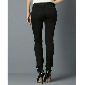 Lily White Riding Pants Black