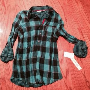 nexx Tops - NWT-NEXX New York Plaid Button Down