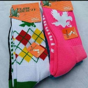FLOW SOCIETY 6 Pack Lacrosse Socks NEW