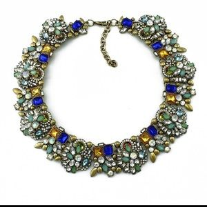 Collar bib necklace
