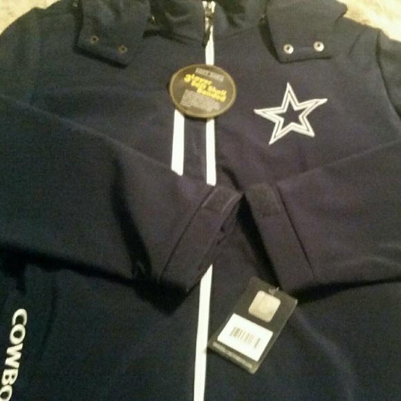 best website a2a2f 4f3b3 FINAL MARKDOWN Men XL Dallas Cowboys Jacket NWT