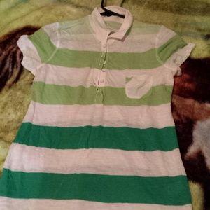 Green old navy shirt!