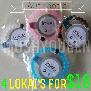 Lokai Jewelry - 4 LOKAI FOR $18