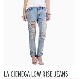 Tobi low rise jeans