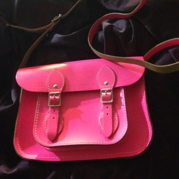 The Cambridge Satchel Company Handbags - Hot Pink Cambridge satchel Company