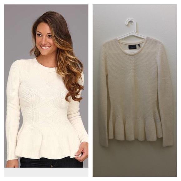 62% off Line Sweaters - 🎉SALE🎉Line Knit Peplum Sweater Winter ...