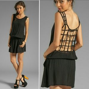 Tiare Hawaii Dresses & Skirts - New tiare hawaii zanzibar lattice back mini dress