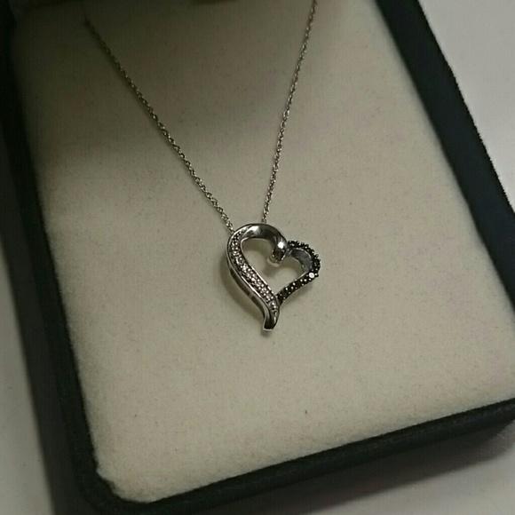 1217ed796 Kay Jewelers Jewelry - Kay Jeweler's White Gold Heart Necklace
