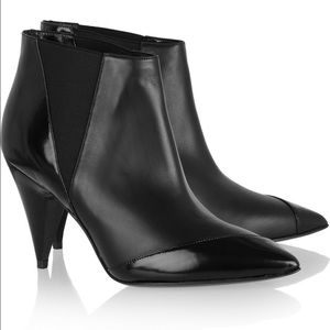 Pierre Hardy Shoes - {Pierre Hardy} Paneled Leather Ankle Boots