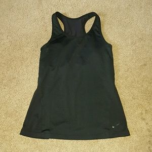 Nike dry fit work out top