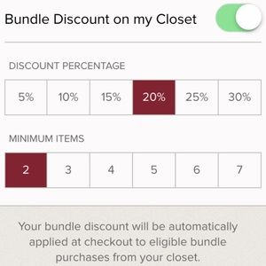 20% BUNDLE DISCOUNT ONLY TODAY!