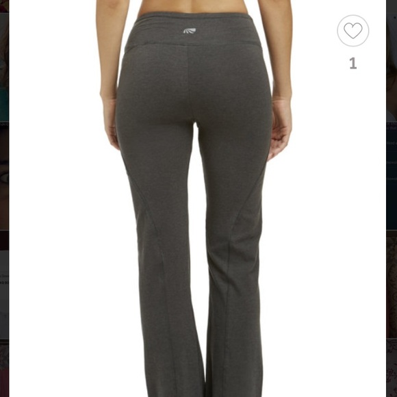 82% off Pants - The balance collection fleece yoga pants from ...
