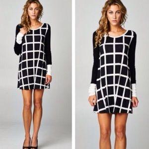 Grid Dress