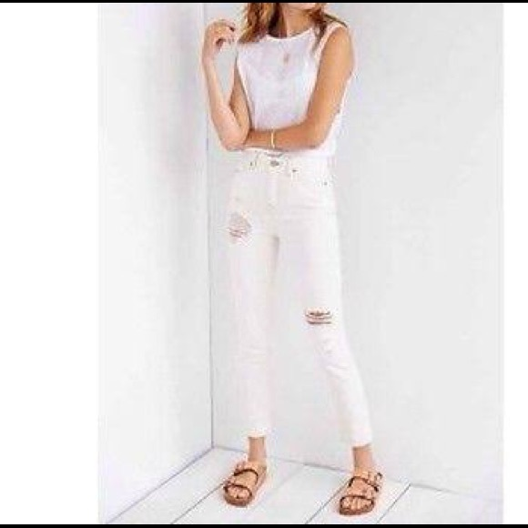 54% off Urban Outfitters Denim - Urban outfitters BDG WHITE JEANS ...