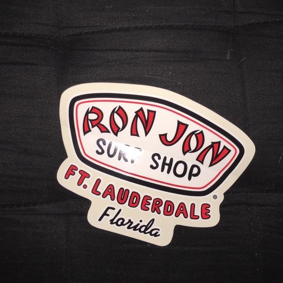 Ron jon sticker
