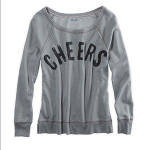 Aerie Cheers logo sweatshirt
