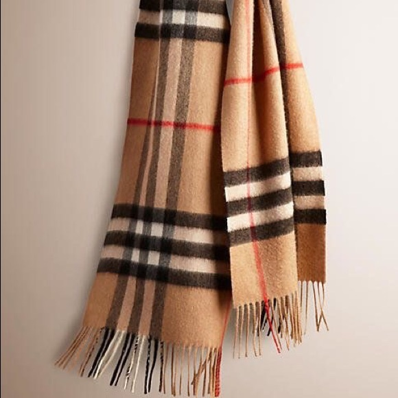 Burberry Accessories   Black Friday Sale Authentic Scarf   Poshmark 59976eea4c