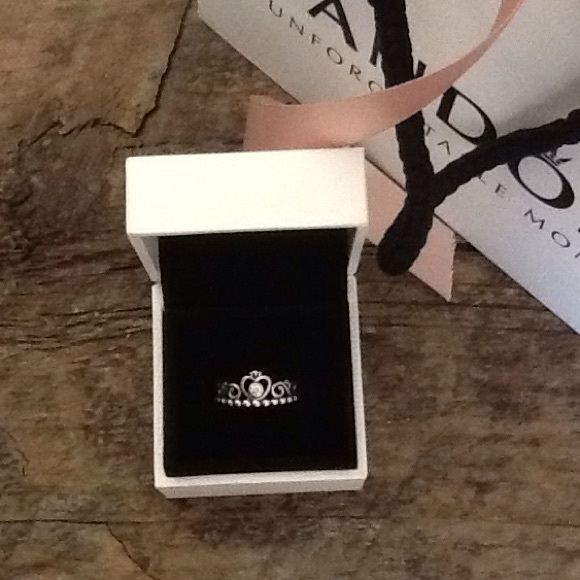 68f563713 pandora my princess with clear cz stackable ring