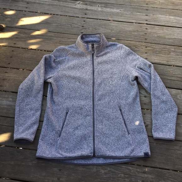 L.L. Bean Jackets   Blazers - Women s L.L. Bean Sweater Fleece Jacket 5bc0f0981