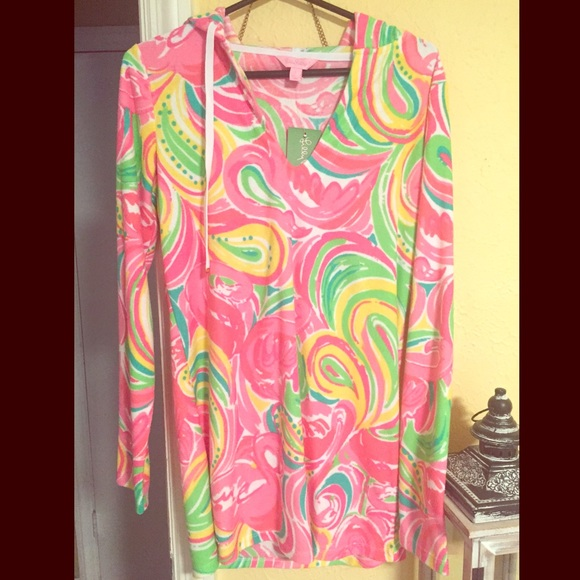 Lilly Pulitzer Sweaters Beach Cover Uphoodie Poshmark