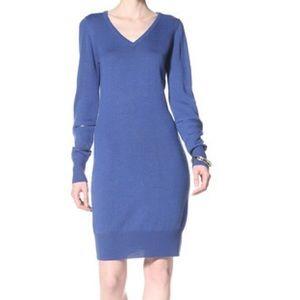 {Marc NY} VNeck Sweater Dress