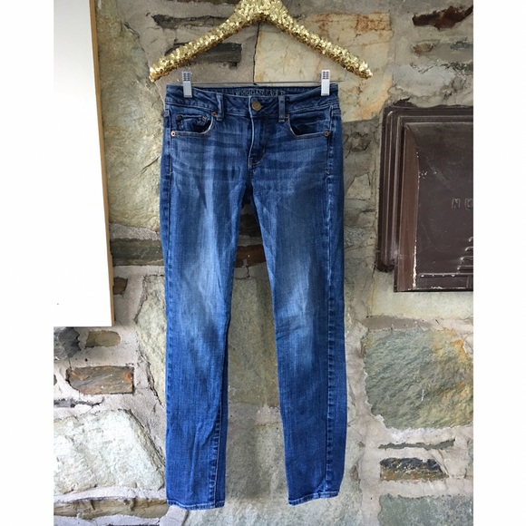 American Eagle Outfitters dark skinny jeans